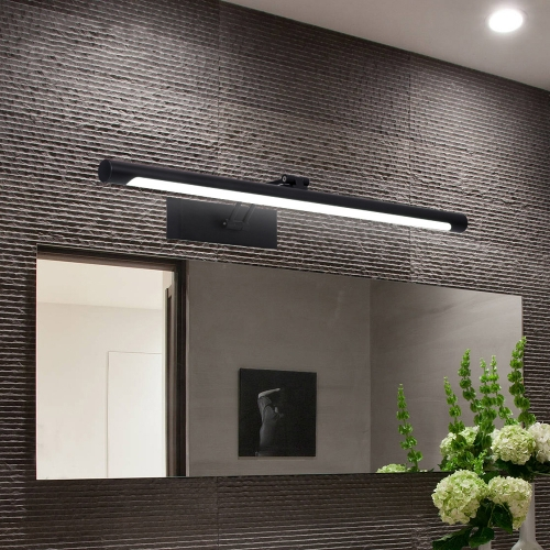 Ranpo 2020 New Modern Led Mirror Light 8W 12W AC90-260V Wall Mounted Industrial Wall Lamp Bathroom Light Waterproof Stainless Steel