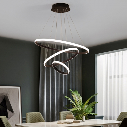 Ranpo Modern Led Chandelier Lighting Lights Hanging Pendant Light Lamp For Bedroom Living Room