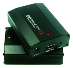 Enster 1 channel 60m Passive HDMI Balun Support HDMI 1.3/HDCP1.1 & 1.2  UTP for CCTV Camera