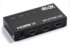 ENSTER Support HDMI 1.4b,Full 3D,HDMI resolution up to 3840x2160/30Hz ,the max baud rate of 3.4G CCTV accessories HDMI splitter
