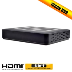 DVR Cable Box Enster with  VGA Full HD TVI CMS Embedded LINUX Operating System 4 Channel