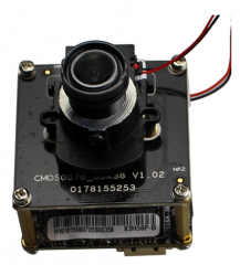 CCTV IP Camera Module Enster with 5.0 MP H.265 SONY Exmor Embedded RTOS DWDR WEB Remote