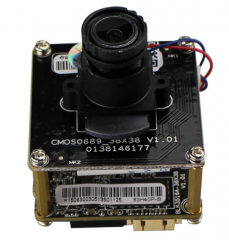 Metal Dome IP Camera Module Enster with 4.0 MP H.265 Embedded RTOS DWDR WEB Remote