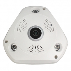 CCTV VR IP WIFI Home Camera Enster with Fisheye Smart 360 Degree 3.0MP Fisheye Lens CDS Infrared Control Port