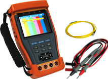 TFT-LCD CCTV Tester with ​​​​​​​Optical power meter PTZ Control PTZ Data Analyst Enster