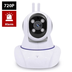 Indoor Wireless WiFi IP Camera Enster GM8135S 4 Light Two-way Audio 100W 720P with PTZ control 433MHz Alarm function For IOS Android