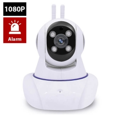 Indoor Wireless WiFi IP Camera Enster GM8135S 4 Ligjt Two-way Audio 200W 1080P with PTZ control 433MHz Alarm function For IOS Android