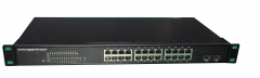 POE Switch with Automatic Detection Internal Power Enster