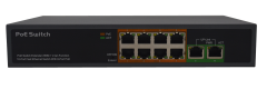 Surveillance System POE Switch with Automatic Detection Switch Extend Enster