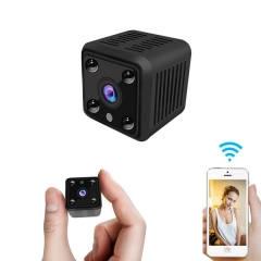 Full HD 720P battery powered camera Infrared Night Vision mini wifi spy camera Motion Detection wireless hidden camera