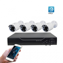 ENSTER 4 Channel 5.0MP High Quality AHD DVR Bullet Camera Kit Home Security Alarm System CCTV System Surveillance
