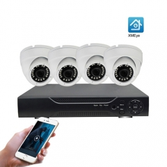 ENSTER Home Security Dome Camera System 4CH 5MP HD Waterproof DVR Kit 1080P P2P Video Surveillance Outdoor CCTV System
