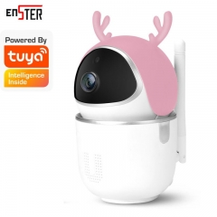 Intelligent Auto Tracking Of Human Wireless Home Security Surveillance CCTV Network Tuya Smartlife Mini Wifi IP Camera