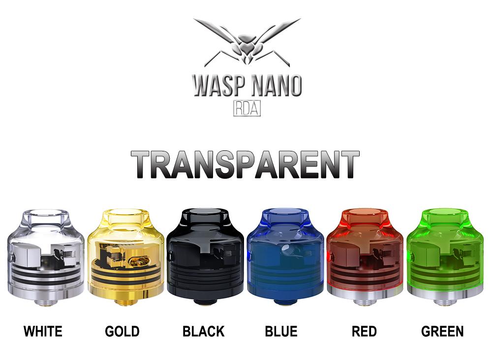 Wasp Nano RDA de Oumier Colores