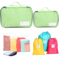 Set of 10 FAMILIFE Packing Cube Set, with Laundry Bag, Shoes Bag, Waterproof Organizer Bags