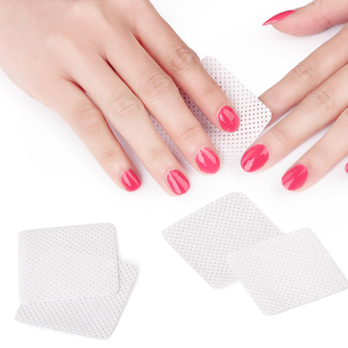 Makartt Nail Wipes Pads Nails Polish Gel Remover Cleaner
