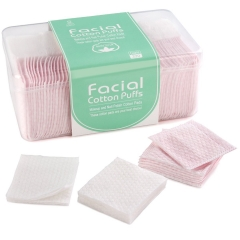 Makartt 320pcs Cotton Pads Makeup and Nail Polish Remover Cotton Squares No Shedding Good Absorbent