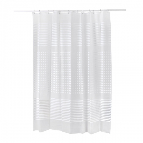 Healfit Mildew Resistant Shower Curtain Liners w ith Hooks ...
