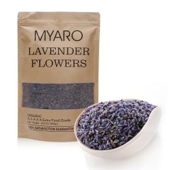 MYARO French Lavender Dried Lavender Buds – 8.8 Oz- Dry Flowers