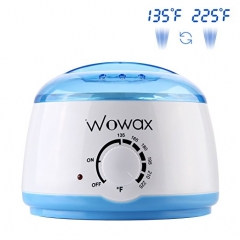 WOWAX Wax Warmer, Professional Wax Heater Hair Removal with 14 oz Melting Pot, Blue
