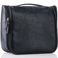 VASKER Travel Hanging Toiletry Bag for Men Waterproof Navy Blue VA-05