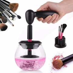 Makeup Brush Cleaner Easy Wash and Dry with 8 Rubber Holders, Suitable for all Size Brushes by VASKER