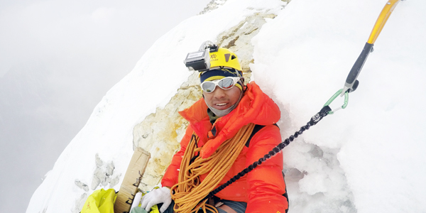 First Solo Ascent from Nepal - Mingma Sherpa