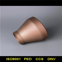 Copper concentric reducer