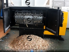 Wood Shredding Machine