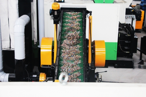 Copper wire recycling machine in Czech
