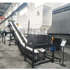 Four shaft shredder inHong Kong
