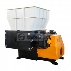 Single shaft shredder in Spain