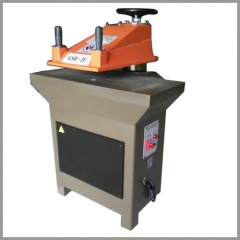 filter bag bottom cutting or punching machine
