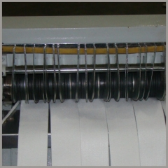 filter bag snap band strip cutting machine