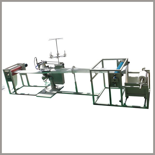 semi-automatic filter bag sewing machine