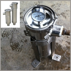 Side Entry Clamp Economic Bag Filter Housings