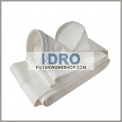 water and oil repellent polypropylene dust collector filter bags