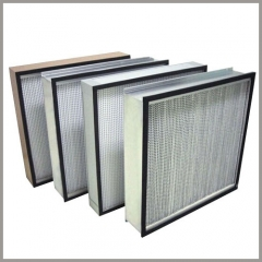 E11 to H14 Rigid pleated box HEPA filter