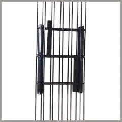 Dust Collector Cages With Guide Plate Joints