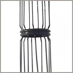 Dust Collector Cages With Clamp Joints