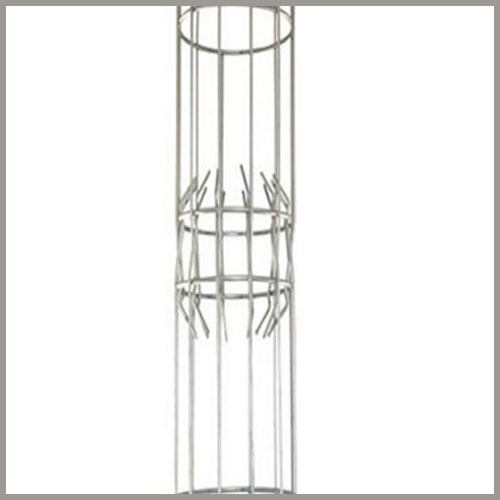 Dust Collector Cages With Claw Joints