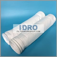 500-550g polyester dust collector filter bags