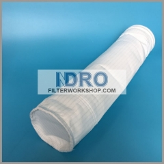 wire line anti static polyester dust collector filter bags