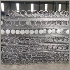 "108""(inch) Galvanized Filter Bag Cages"