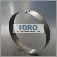Stainless steel SS301 snap band strips