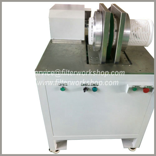 High flow pleated filter cartridge welders/welding machines/equipment/production line