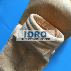 ptfe laminated P84 dust collector filter bags