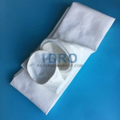 dust collector filter bags sleeves with gasket top