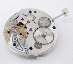 17 Jewels Hand-winding Asian 6498 Movement with Decoration