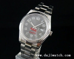 40MM Gray Dial Men Automatic Watch\sapphire